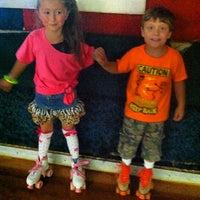 Photo taken at Hot Wheels Skating Center by Amanda Bunting C. on 9/29/2013