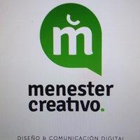Photo taken at Menester Creativo - Agencia de Publicidad by Cri S. on 11/10/2014