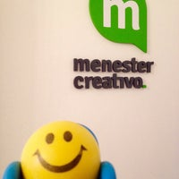 Photo taken at Menester Creativo - Agencia de Publicidad by Cri S. on 12/12/2014