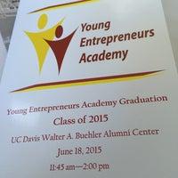 Photo taken at Buehler Alumni Center by Aja H. on 6/18/2015