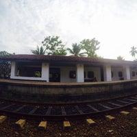 Photo taken at Bentota Railway Station by Pratyush T. on 12/27/2015