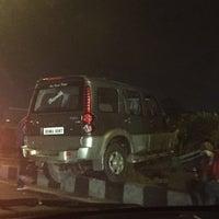 Photo taken at Gurgaon Toll Plaza by Pratyush T. on 4/7/2016