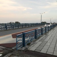 Photo taken at 江東橋 by Canariens on 7/29/2018