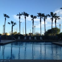 Photo taken at DoubleTree by Hilton Hotel Orlando Airport by Amanda D. on 4/9/2013