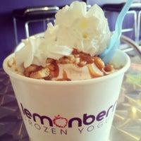 Photo taken at Lemonberry Frozen Yogurt by OfTheGirl .. on 6/7/2013