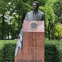 Photo taken at Pomnik Ronalda Regana by STommy on 5/26/2017