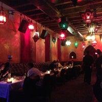 Photo taken at Le Souk Restaurant & Lounge by Julie A. on 3/8/2013