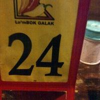 Photo taken at Lombok Galak by farahdina a. on 3/30/2013