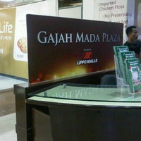 Photo taken at Gajah Mada Plaza by MELATI H. on 11/11/2012