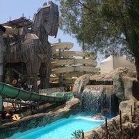 7/13/2013 tarihinde Esra K.ziyaretçi tarafından Rixos Premium Troy Aqua Park'de çekilen fotoğraf