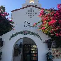 Photo taken at Spa La Quinta by John C. on 11/25/2017