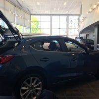 Photo taken at University Mazda by John C. on 5/19/2017