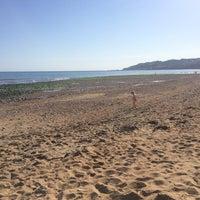 Photo taken at Charmouth Beach by No Ni Na on 6/17/2017
