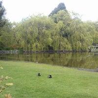 Photo taken at Minoru Park & Oval in Richmond by Skyla C. on 4/28/2013