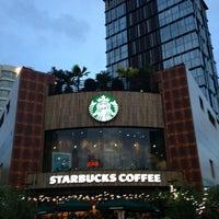 Photo taken at Starbucks Coffee @ New World Hotel by Emmanuel D. on 7/6/2013