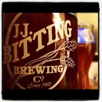 Photo taken at J.J. Bitting Brewing Company by Jamie A. on 11/9/2012