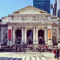 Photo taken at New York Public Library by Oksana M. on 4/6/2013