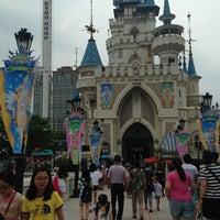 Photo taken at Lotte World Adventure by Trisha L. on 7/21/2013