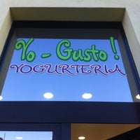 Photo taken at YoGusto by Matteo L. on 4/14/2013