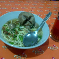 Photo taken at Mie Baso H. Oding / AGA by Alvin A. on 6/30/2013