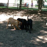Photo taken at Coronation Dog Park by Sol C. on 8/2/2013