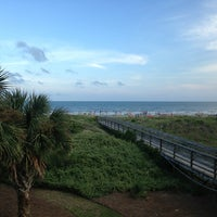 Photo taken at Isle of Palms Beach by Rusty on 7/27/2013