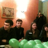"Photo taken at Кафе ""Смак"" by Богдан В. on 2/23/2013"
