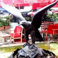 Photo taken at Beşiktaş Square by Burak Y. on 6/5/2013