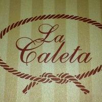 Photo taken at La Caleta by Daniel G. on 8/3/2013