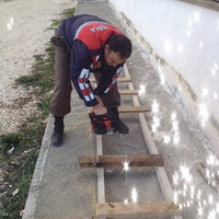Photo taken at EVCİLER İLÇE J.K.LIĞI by muzaffer u. on 3/3/2014