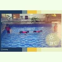 Photo taken at Senator Resort Hotel by Jeine W. on 8/10/2013