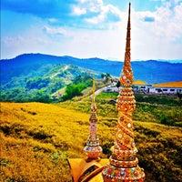 Photo taken at Wat Phra That Pha Son Kaew by OOFY 大. on 12/11/2012