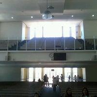 Photo taken at Primeira Igreja Batista by Gustavo R. on 10/13/2013