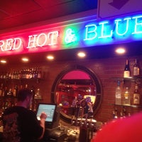 Photo taken at Red Hot & Blue BBQ by Steve P. on 3/11/2013