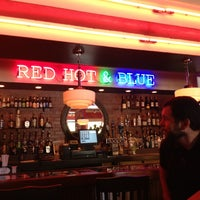 Photo taken at Red Hot & Blue BBQ by Steve P. on 8/31/2013
