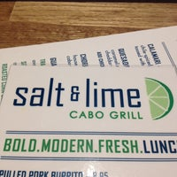 Photo taken at Salt & Lime Cabo Grill by Steve P. on 6/29/2014