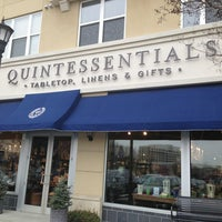 Photo taken at Quintessentials - Linens, Tabletop & Gifts by Triangle Real Estate G. on 2/22/2013