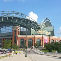 Photo taken at Miller Park by Kay C. on 7/16/2013