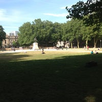 Photo taken at Queen Square by Scott B. on 7/16/2013