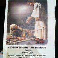 Foto diambil di Berea Temple Of Seventh Day Adventists oleh Ernest H. pada 3/23/2013