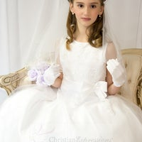 Photo taken at First Communion Dresses by Christian Expressions by First Communion Dresses by Christian Expressions on 2/26/2015
