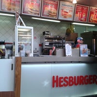 Photo taken at Hesburger - Liepāja Neste by Ivarito S. on 2/23/2013