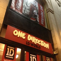 Photo taken at One Direction World by Melissa L. on 7/13/2013