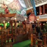 Photo taken at Buccaneer Bay Miniature Golf by William d. on 8/22/2013