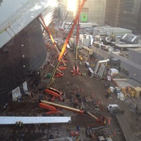 Photo taken at World Trade Center Construction Security by Michael M. on 10/30/2014