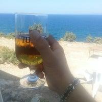 Photo taken at Çardak Cafe Plaj by Okan S. on 8/23/2014