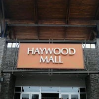 Photo taken at Haywood Mall by Suzanne S. on 2/25/2013