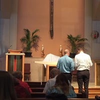 Photo taken at Our Father Lutheran Church by Sandy C. on 3/29/2015