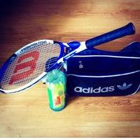 Photo taken at İnnovia 2 Tenis Kortu by 🎀S£RP!L🎀 on 3/27/2016