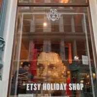 Photo taken at Etsy Holiday Shop by Bridget J. on 12/8/2012